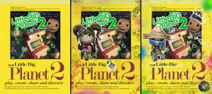 Little Big Planet Sketchbooks by RobDuenas