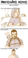 Fanservice Meme-Chris Redfield by Ryumaro