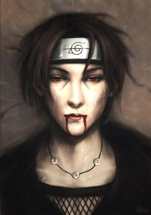 Itachi by V3rc4