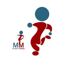 Muskel Masse Logo oO by miorio