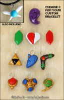 Collectible zelda charms by Skadi-r