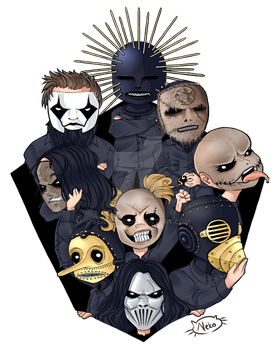 Slipknot Commision for Drediland by Senhoshi