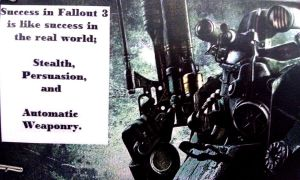 Fallout 3 Saying by KellyCurly