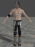 Hitman: Absolution - Agent 47 wrestling suit by junkymana