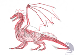 Dragon musculature by Flying-With-Dragons