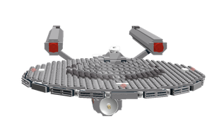 Lego Enterprise by dantrekfan48