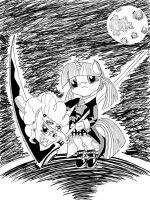 Pony Eater 1: The Witch Hunter by BluStarPencil