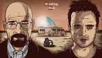Breaking Bad - Once in a blue meth by JDog0601
