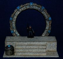 My Wormhole Stargate model by Grekwood
