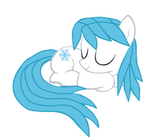 Sleeing Snowflake by sevenBug