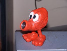 q-bert custom figure by venkman3000