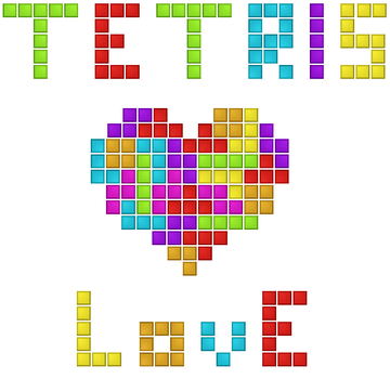 Tetris Love by MKadriovski