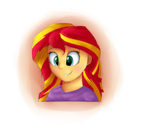 Sunset Shimmer [CAPs D16] by VanillaGhosties