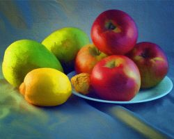 Still Life with Apples by pubculture