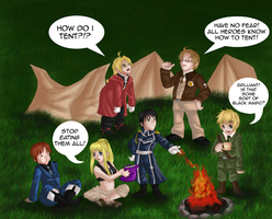 Camping Time! - Contest Entry by KanaBanana