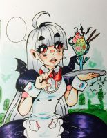 Vampire Maid Cafe by FumiMoto