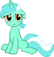 Lyra being cute by Astringe