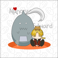 .fma - cat love. by morphin