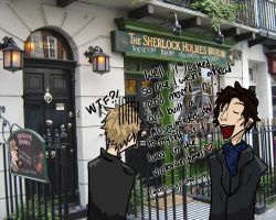 at 221B Baker Street by suspicious-chicken