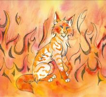 Fire in His Heart by CaptainMorwen