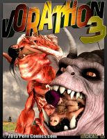 VORATHON 3 BOOK 6 ON SALE NOW! by PerilComics