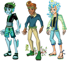 Adoptables - Monster High Elemental Boy CLOSED by mi-chie