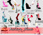 Fashion Shoes PNGs by Bellacrix