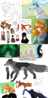 Sketchdump 2-2013 by Merrinella
