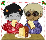 HS - Panettone! by MasterFranny
