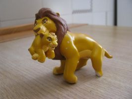 TLK collection: Mattel Mufasa Prototype by kary218