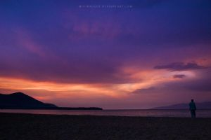 A Grain of Sand by Moonnight