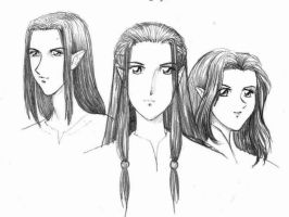 Fingolfinians by Tenshi-Androgynous