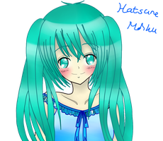Hatsune Miku -colored- by naota-art