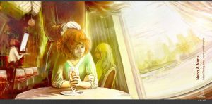 Chocolate Parfait - Nephrite will be there by Diewahne