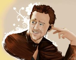Tom Hiddleston by MJxCherryFurukiwaxMJ