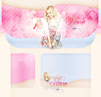 Emma Stone Layout by littlebutterflyxxx