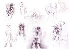 Sketchcollection by Safirah