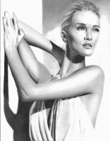 Aphrodite...Rosie Huntington-Whiteley by MonikaLoesser