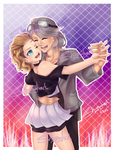 Dance With Me| Punkette180 commission by MellowNite
