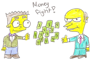 Money Fight! by tangledupxinplaid