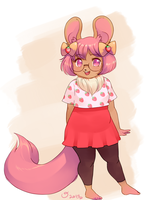 lil fursona by magicalondine