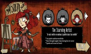 Don't Starve - Wonne by vickie-believe