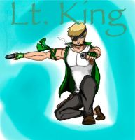 Lt. King (colors) by schris91