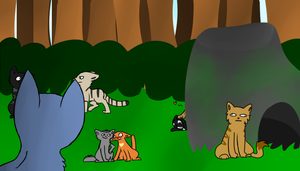 Just a normal day in ThunderClan by CaptainLaylie