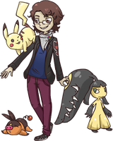 Self-Indulgent PKMN Trainer would like to battle! by Vuro