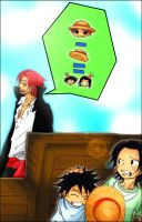 Shanks and Kids by KaoruX3