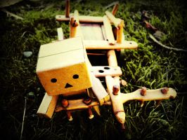 Danbo Oxcart by circassiann