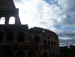 Rome, Clouds and the Sun by Rikkulikescookies