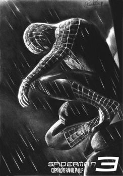 Spiderman 3 poster by rahulphilips