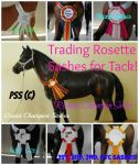 Trading Rosette Sashes for Tack! by PurpleSunshineStable